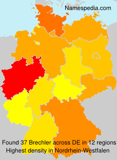 Surname Brechler in Germany