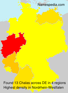Surname Chalas in Germany