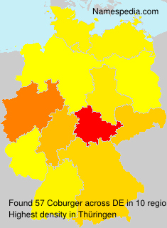 Surname Coburger in Germany
