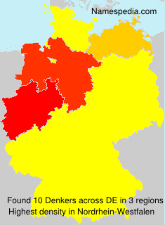 Surname Denkers in Germany