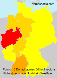 Surname Donadt in Germany