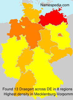 Surname Draegert in Germany