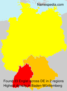 Surname Engist in Germany