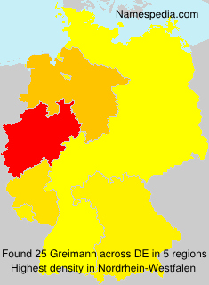 Surname Greimann in Germany