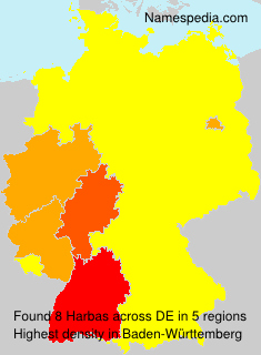 Surname Harbas in Germany