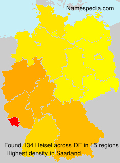 Surname Heisel in Germany