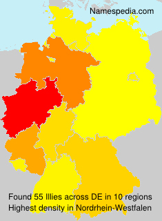 Surname Illies in Germany