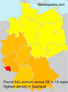 Surname Jochum in Germany