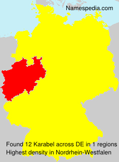 Surname Karabel in Germany