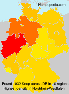 Surname Knop in Germany