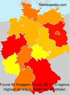 Surname Koeppen in Germany