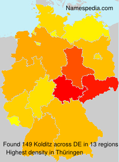 Surname Kolditz in Germany