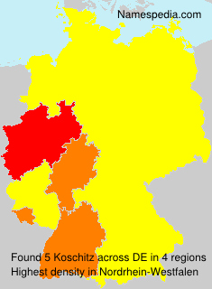 Surname Koschitz in Germany