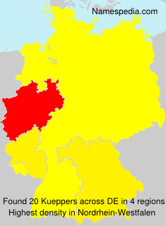Surname Kueppers in Germany