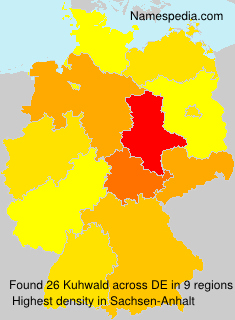Surname Kuhwald in Germany