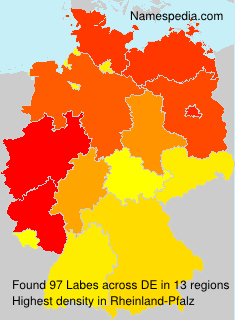 Surname Labes in Germany