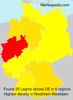 Surname Legros in Germany