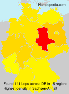 Surname Leps in Germany