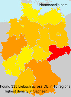 Surname Liebsch in Germany
