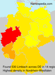 Surname Limbach in Germany