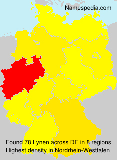 Surname Lynen in Germany