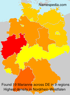 Surname Marianne in Germany