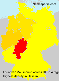 Surname Mausehund in Germany