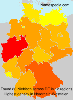 Surname Niebisch in Germany