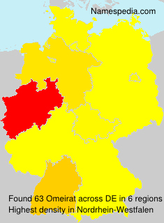 Surname Omeirat in Germany