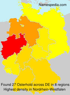 Surname Osterhold in Germany