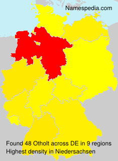 Surname Otholt in Germany