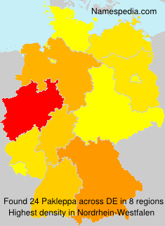 Surname Pakleppa in Germany