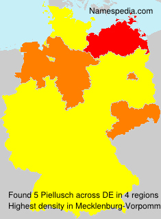 Surname Piellusch in Germany