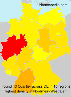 Surname Quartier in Germany