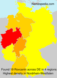 Surname Rovcanin in Germany