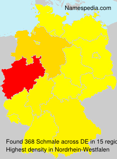 Surname Schmale in Germany