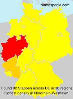 Surname Stappen in Germany