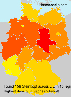 Surname Steinkopf in Germany