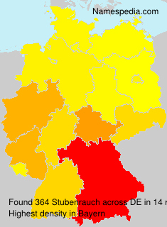 Surname Stubenrauch in Germany
