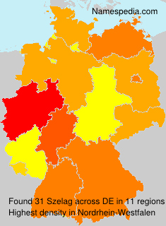 Surname Szelag in Germany