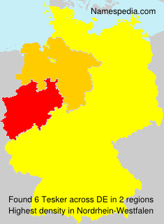 Surname Tesker in Germany