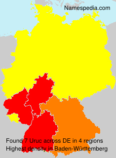 Surname Uruc in Germany