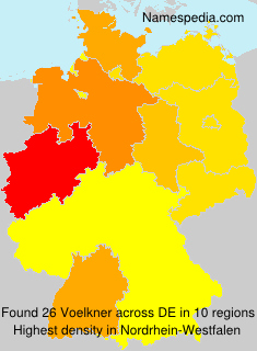 Surname Voelkner in Germany