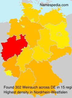 Surname Weirauch in Germany