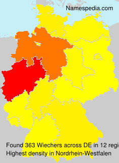 Surname Wiechers in Germany