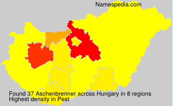 Surname Aschenbrenner in Hungary