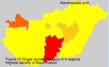 Surname Dugar in Hungary