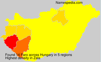 Surname Faro in Hungary