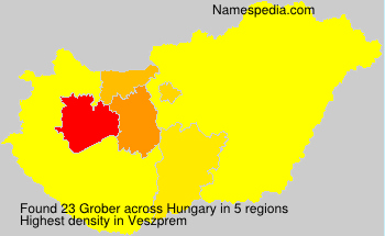 Surname Grober in Hungary