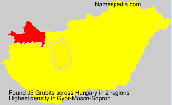 Surname Grubits in Hungary